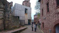 Burg Wertheim, Erweiterungsbau mit Eichenfassade Oak Tree, Germany, Travel