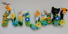 Namensketten - 3D Buchstaben für Namensgirlande ab 10€/Stk - ein Designerstück von DekorExperte bei DaWanda