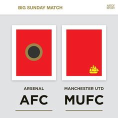 HURRY UP SUNDAY!  Who's winning this one? Tag a friend and let them know.  #AFC #Arsenal #mufc #manchester