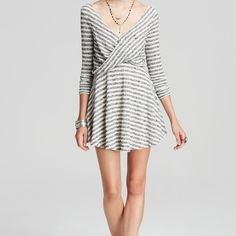 """Free People Maveric Dress Brand new with tags (size tag has detached on one side). Fully lined, swing knit dress. Self: 62% poly, 38% cotton, Lining: 100% rayon. Shoulder seam to hem approx. 33"""". No trades, thank you. Price is firm.   ⭐️Feel free to ask any reasonable questions below!⭐️ Free People Dresses Mini"""