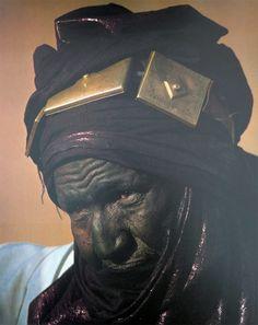 Africa   Tuareg chief, Hamadaba Muhammad of Mali   © 'Africa Adorned'. Angela Fisher. //