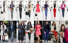 Anne Hathaway's Style in The Intern