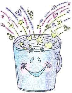 "Have you filled a bucket today? A friend from school recently told me about a great little idea called ""Bucket filling."" The concept i. Classroom Behavior, School Classroom, Classroom Ideas, Classroom Objectives, Classroom Meeting, Preschool Behavior, Teaching Tools, Teacher Resources, Teaching Ideas"