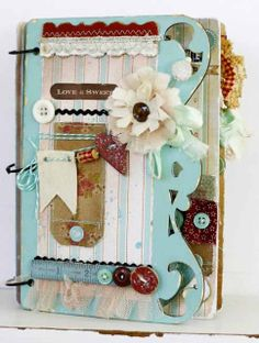 The Scrappy Gourmet Blog: Love is Sweet...