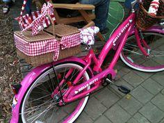 Hello kitty bicycle!!