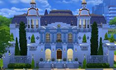 Journey to Orlais: Chateau D`Onterre by klein_svenni at Mod The Sims via Sims 4 Updates