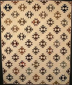 Double X Quilt: Circa 1880; Pennsylvania love the way the blocks are placed in 2 different directions!
