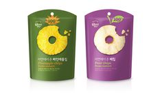 Bokumjari Fruits Snack on Packaging of the World - Creative Package Design…