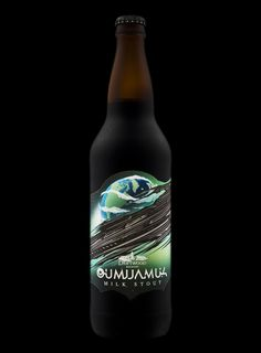 Canadian Milk Stout Named After the First Known Interstellar Object / World Brand & Packaging Design Society