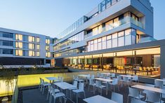 Hotel Privo by DE3 – Amazing Modern Hotel in Targu Mures, RomaniaDesignRulz4 August 2014Located 500 metres from the city center and the main landmarks of Targu Mures, Romania, Hotel Privo is a new modern hotelbu... Architecture Check more at http://rusticnordic.com/hotel-privo-by-de3-amazing-modern-hotel-in-targu-mures-romania/