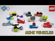 Micro Lego, Lego Projects, Legos, Nerf, Youtube, Toys, Vehicles, Origami, Movie