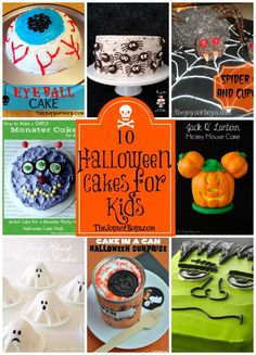 Halloween is only two weeks away and Halloween party plans are underway. Check out these 10 Halloween Cakes for kids and give them the most spooky and fun Halloween yet. Halloween Cakes for Kids