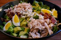 chicken cobb salad - paleo if you take out the blue cheese