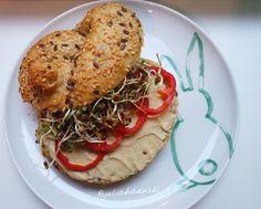 Bagel, Food Ideas, Bread, Recipes, Vegane Rezepte, Brot, Recipies, Baking, Breads