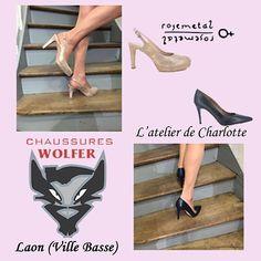 Rose grandiose ou bleu voluptueux? À vous de choisir! #chaussures #wolfer…