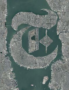 Mmmhhh city grid, aerial views and typography - love it
