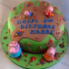 Muddy Peppa Cake