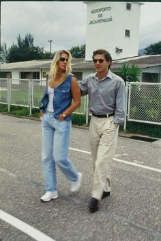 Ayrton Senna Photos - Ayrton Senna Picture Gallery - Who's Dated Who? - Page 4