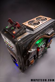 Steampunked computer drive