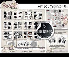 Awesome Art Journaling Plus Freebies