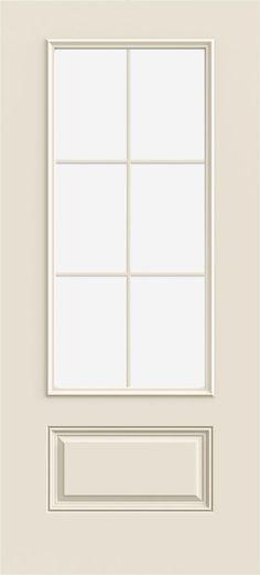 3068 3/4 View, 6-Light, 1-Panel (Paint Grade)
