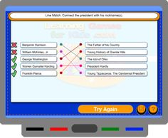President's Day games for SMARTBoard