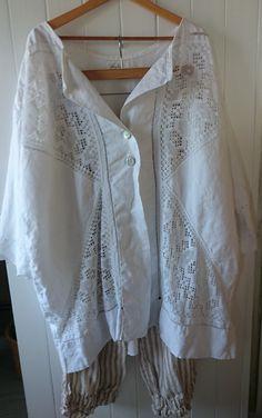 Vintage Linen Jacket MegbyDesign