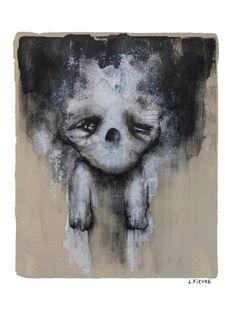 Teddy © Laurent Fièvre Canson - paper (acrylic) - 30 x 24 cm - 22/09/2014