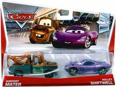 CARS Movie Moments 1:55 2-Pack Nigel Gearsley & Austin Littleton