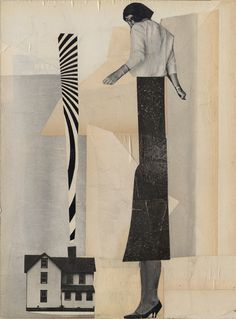 by Johanna Goodman. Dada Collage, Love Collage, Collage Drawing, Collage Artists, Mixed Media Collage, Art Collages, Mixed Media Photography, Art Photography, Photomontage