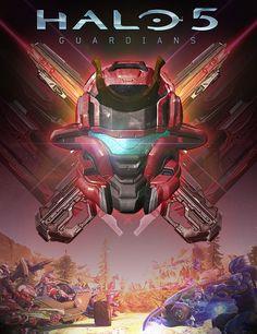 Halo 5 / Battle of Shadow & Light - promotional key art, Eric Will on ArtStation at https://www.artstation.com/artwork/ZdveZ