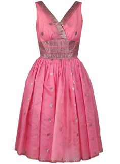 Pre-owned Metallic Baby-Pink Organza Shelf-Bust Party Dress & Shawl Low Cut Dresses, Trendy Dresses, Day Dresses, Evening Dresses, Summer Dresses, Dress Outfits, Sari Dress, Saree Gown, Lehenga