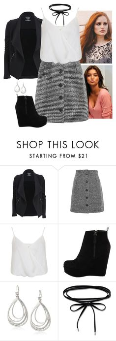 """""""Jessica Carter Outfit #4"""" by preppyandgirlie2001 ❤ liked on Polyvore featuring Majestic Filatures, Topshop, Miss Selfridge, ALDO, Elie Tahari and Thomas Sabo"""