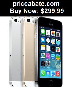 Cell-Phones: Apple iPhone 5s - 16GB (Factory Unlocked) Smartphone  Space Gray - Silver - Gold - BUY IT NOW ONLY $299.99