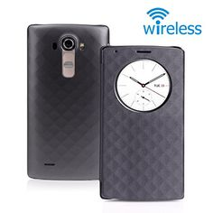 LG G4 Case, CHOETECH LG G4 Quick Circle Case Wireless Charger Qi Wireless Charging Receiver Cover Case - with Smart Wake Up/Sleep View Window - Support NFC and Wireless Charging Function (Black) CHOETECH http://www.amazon.com/dp/B011DTIW6U/ref=cm_sw_r_pi_dp_K9kQvb1PSEY9K