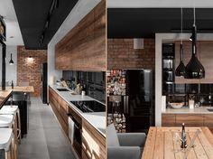 foorni.pl | widok na detal kuchni - betonowa rama