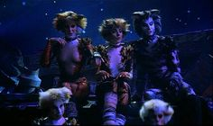 Bombalurina, Demeter, and Munkustrap. Cats Musical, Musical Theatre, Movie Theater, Movie Tv, Cats That Dont Shed, Jellicle Cats, Cats With Big Eyes, Musicals, Tv Shows