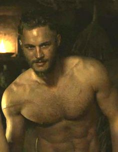 """Ragnar Lofbrook from history channel """"vikings"""" & your welcome"""
