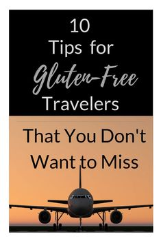 Check out TrudyTraveler to learn more about making flying easy when gluten-free.  Also, see the great snacks and tips that everyone can benefit from! #glutenfree #traveltips #travelhacks