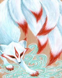 kitsune means fox in japanese