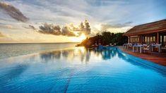 Maldív naplemente