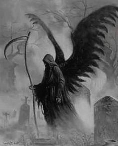 56 Ideas For Dark Art Drawings Demons Death Grim Reaper Grim Reaper Art, Grim Reaper Tattoo, Don't Fear The Reaper, Dark Fantasy Art, Fantasy Kunst, Angel Of Death Tattoo, Reaper Drawing, Character Art, Fantasy Characters