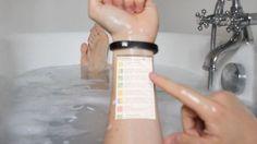 Futuristic Gadget, Cicret Bracelet, Skin, touchscreen, Wearable Electronics, Future Technology, Future Device, Futuristic Lifestyle
