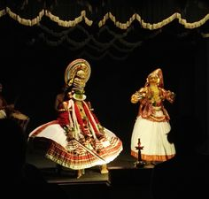 Kathakali, traditional Keralan dance performance, India