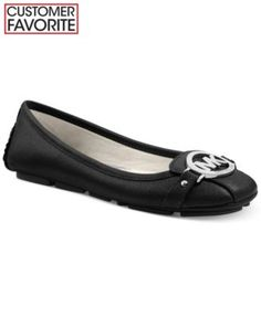 MICHAEL Michael Kors Fulton Moc Flats   macys.com. Tried these on at the store and OMG are they ever comfy!!!! Want!