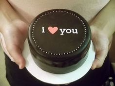A small, simple cake can truly remind someone that they are loved.