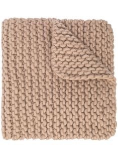 Shop I Love Mr Mittens Billie Chunky Knit Scarf In Brown from stores. Taupe brown wool Billie chunky knit scarf from I Love Mr Mittens featuring a knitted style, finished edges and an adjustable fit. I Love Mr Mittens, Chunky Knit Scarves, Fashion Prints, Fashion Design, Designer Scarves, Motif Design, Womens Scarves, World Of Fashion, Taupe