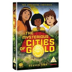 'The Mysterious Cities of Gold' has returned with a second series after an unbelievable 27 year hiatus! Animation News, Season 2, Mysterious, Cities, Mystery, Adventure, Movie Posters, Gold, Art