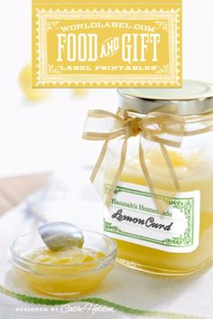 Best Free Printables for Crafts - Food And Gift Labels - Quotes, Templates, Paper Projects and Cards, DIY Gifts Cards, Stickers and Wall Art You Can Print At Home - Use These Fun Do It Yourself Template and Craft Ideas Vintage Food Labels, Vintage Recipes, Printable Labels, Free Printables, Labels Free, Printable Vintage, Jar Gifts, Food Gifts, Gift Labels