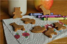 Paleo Animal Crackers - not only gluten free, but grain free, dairy free, refined sugar free, and paleo!